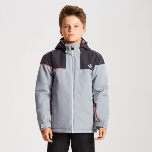 Kids' Entail Ski Jacket Cloudy Grey Ebony